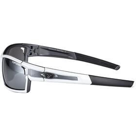 Tifosi Escalate SF Cykelbriller Herrer, white/gunmetal - smoke/ac red/clear